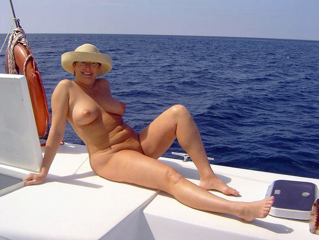 Naked couples on boat nude - new images