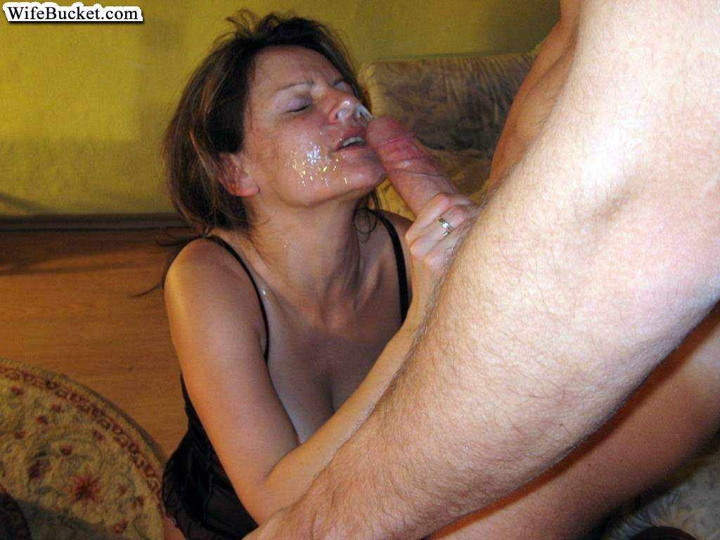 cum Amateur blonde wife