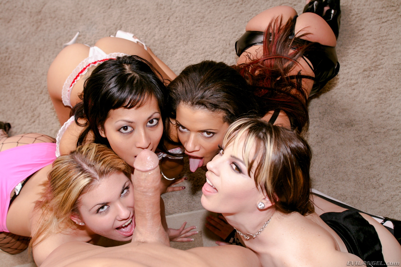 orgy two One girl guys