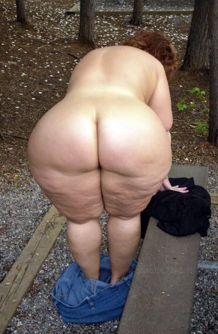 anal Mature big butt