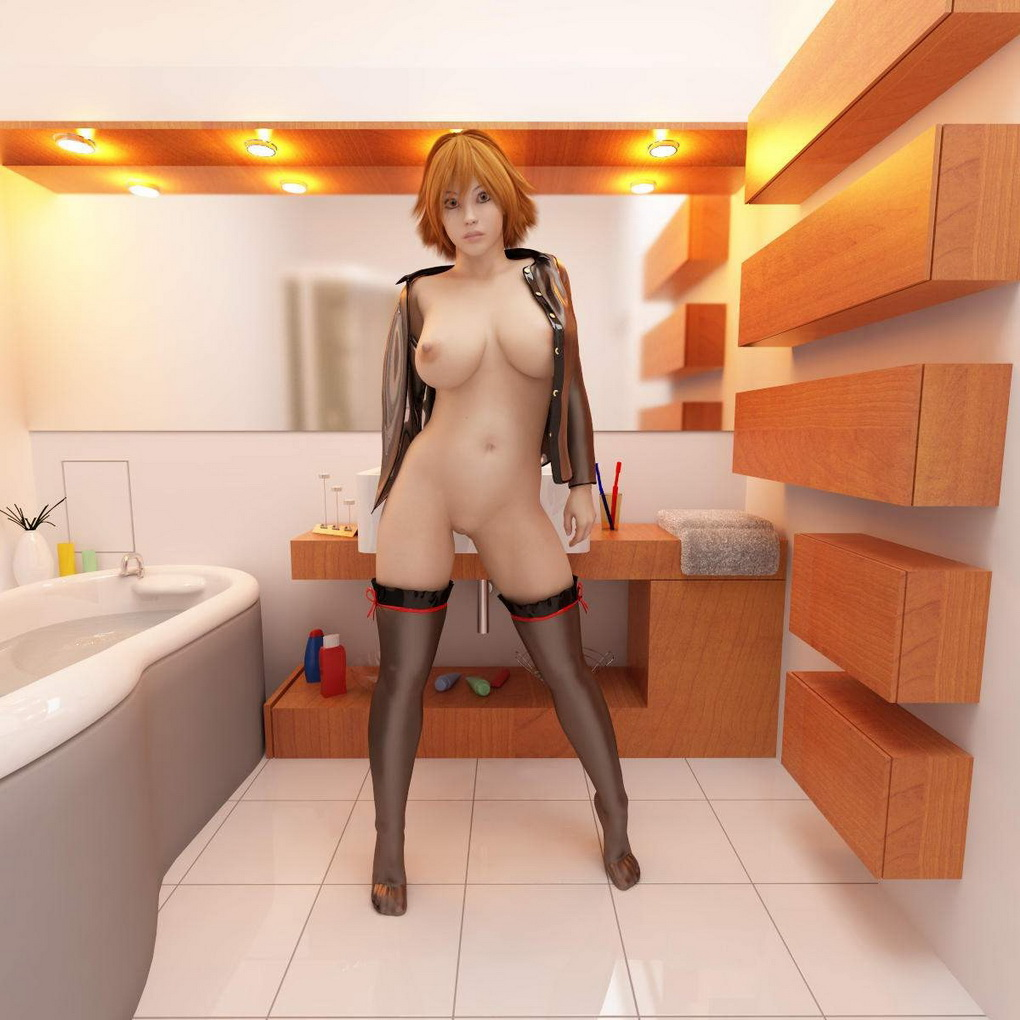 nude girls 3d Cartoon anime