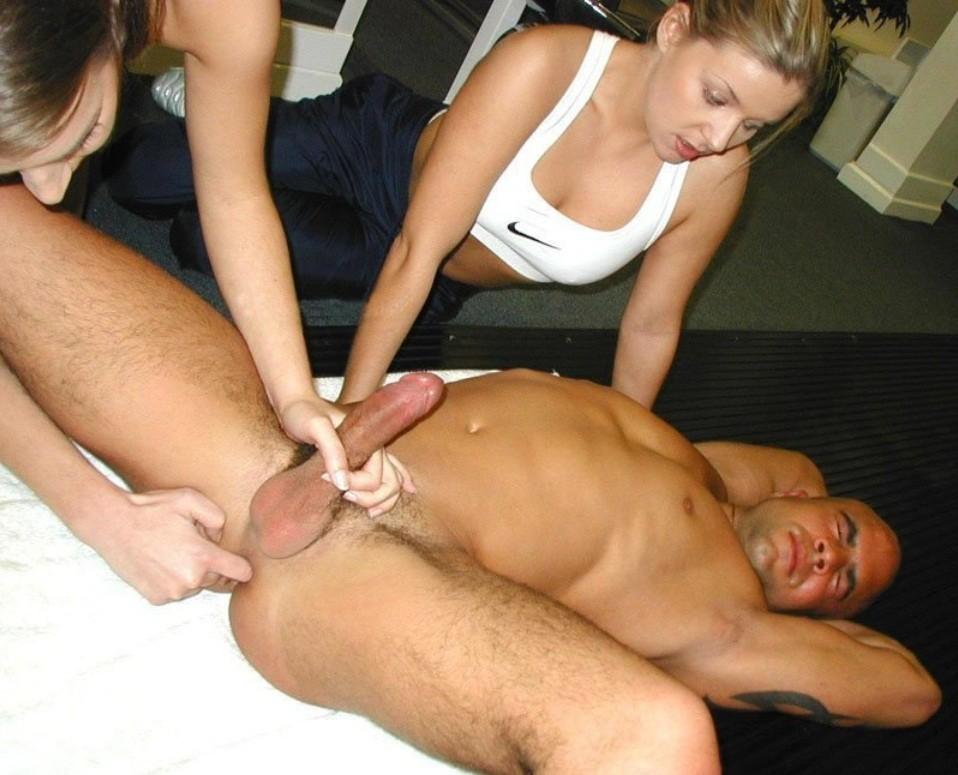 Big tits handjob torture