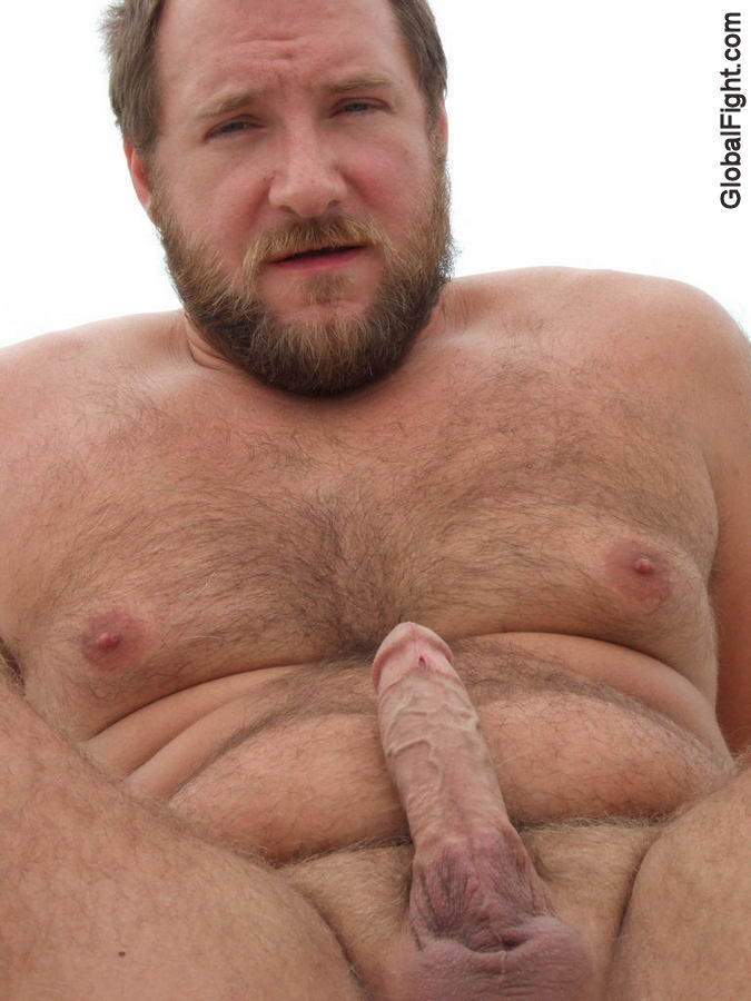 hairy men Gay naked bearded