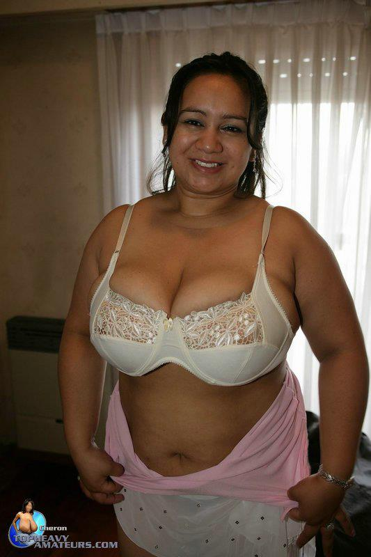 Curvy mature latina