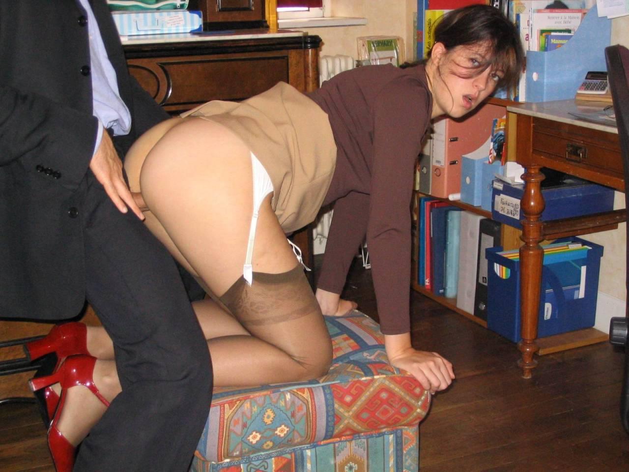 secretaries nude Real