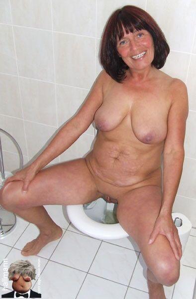 tits Grandma with big