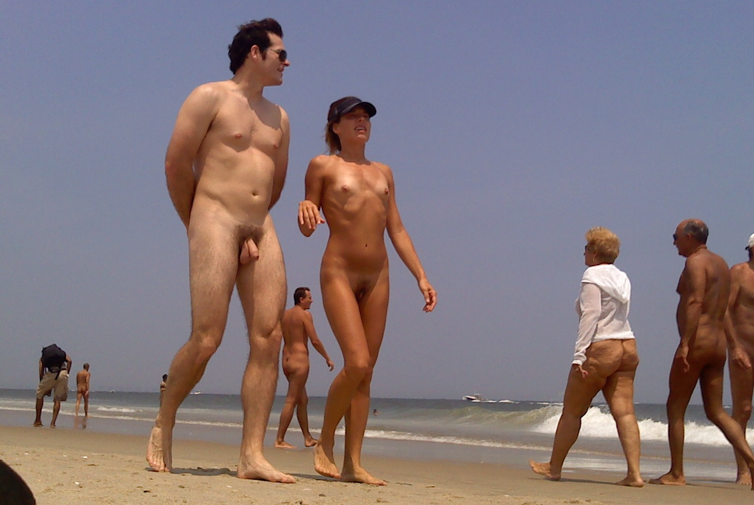 beach nude Sandy hook