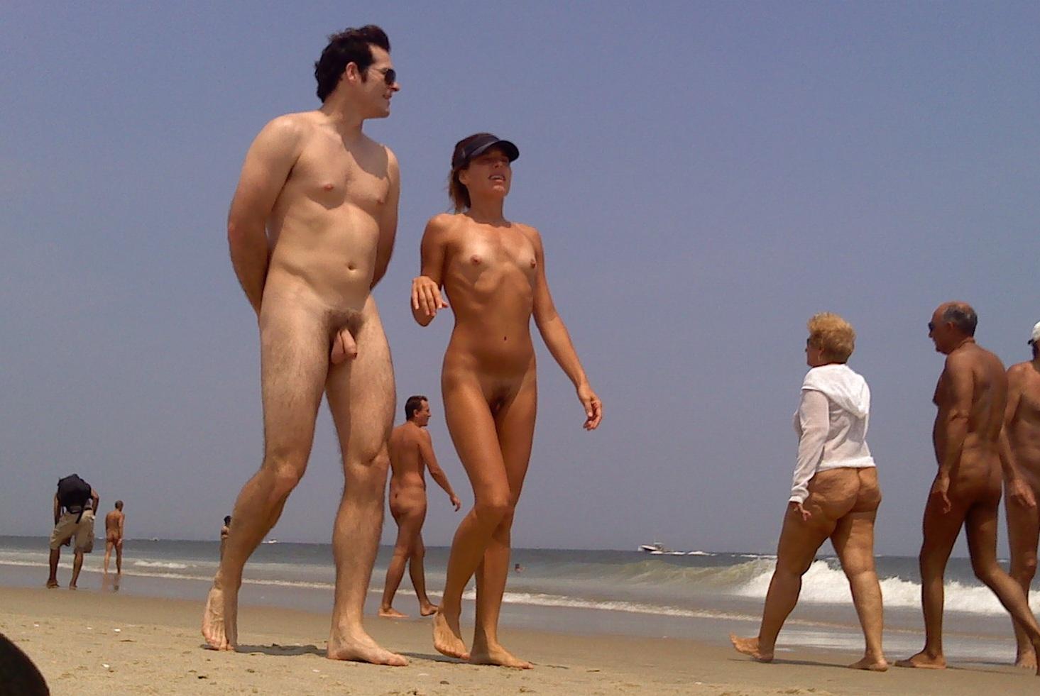 beach nude Sandy hook
