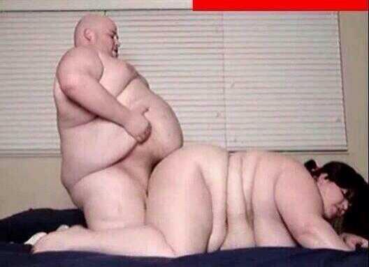 sex having Fat person