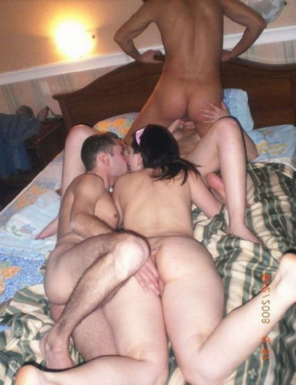 amateur swingers party Interracial