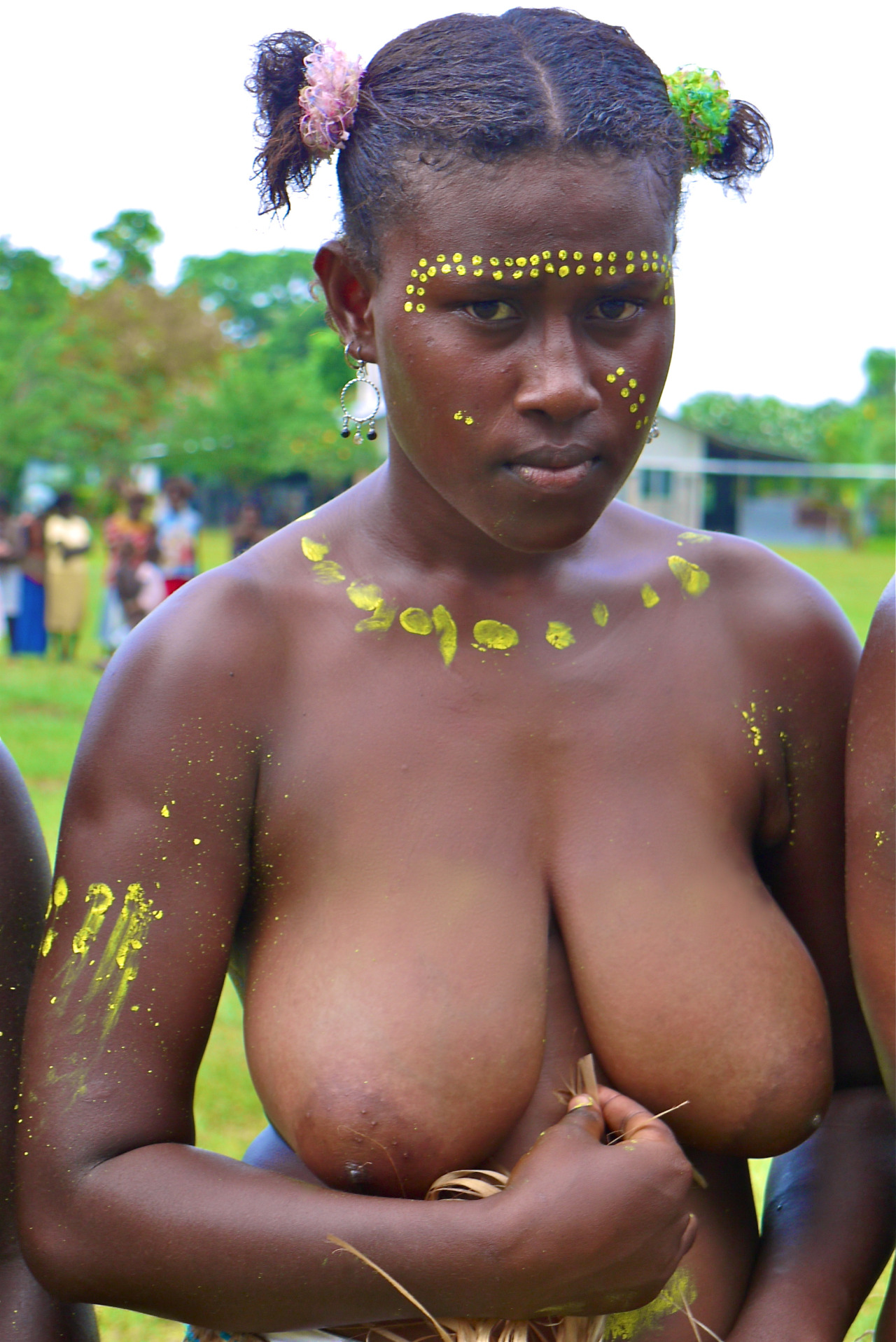 tits tribes Nude african big
