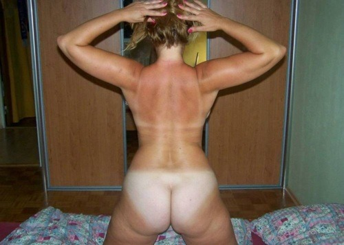 lines Big booty tan