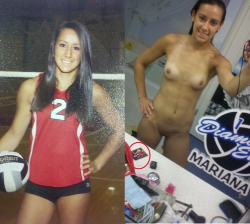players nude volleyball Girl