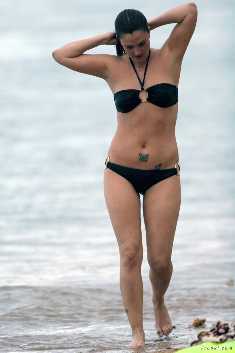 barrymore bikini Drew