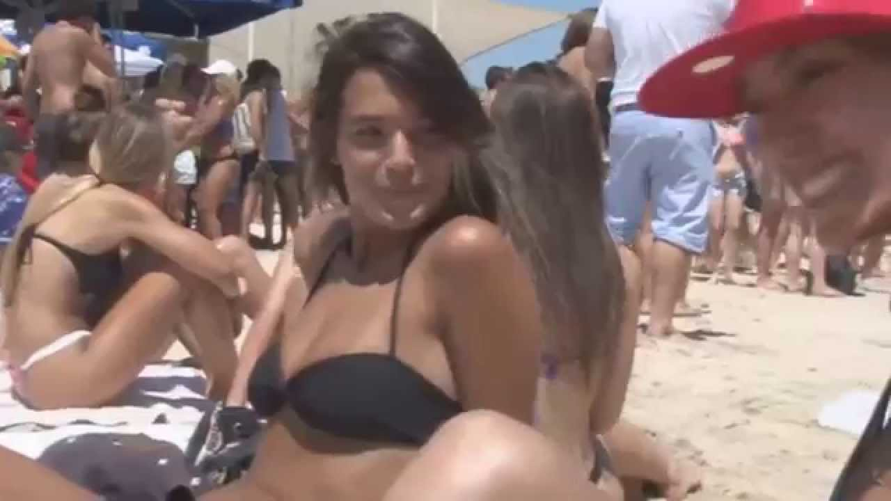hot surfer girl threesome gif
