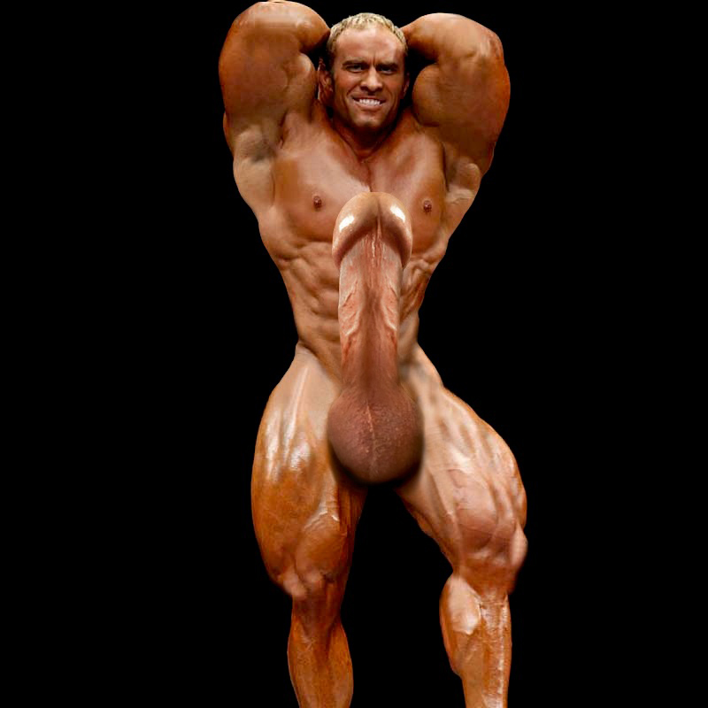 naked bodybuilders with huge meat