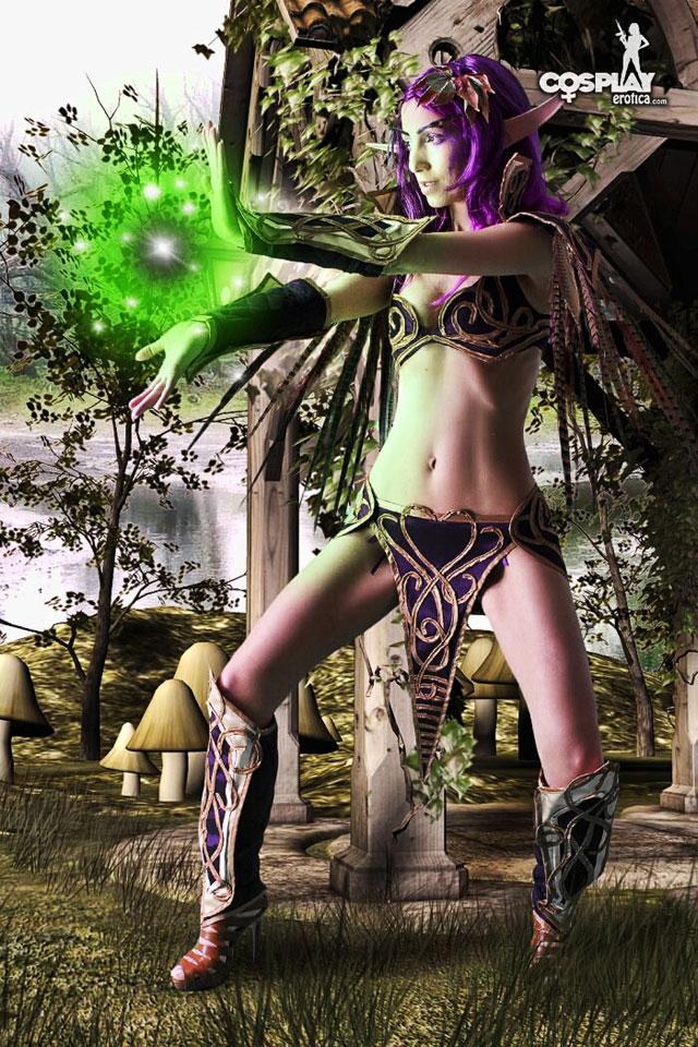 cosplay naked of girls warcraft World