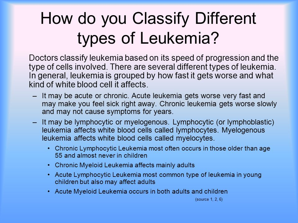 adult Leukemia in