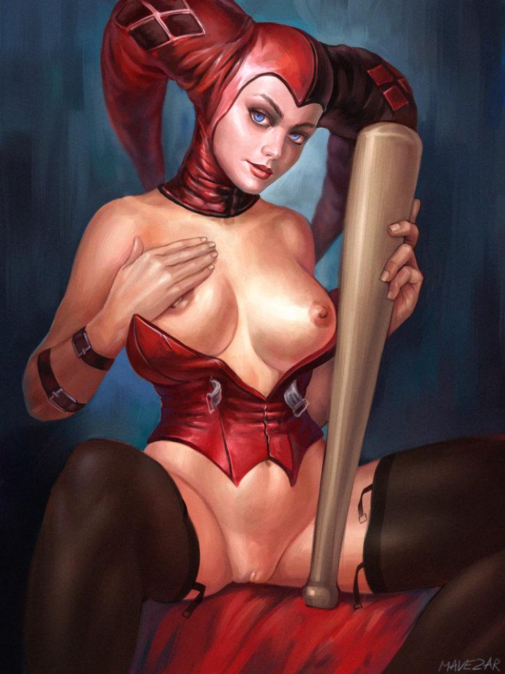 hentai Harley injustice porn quinn