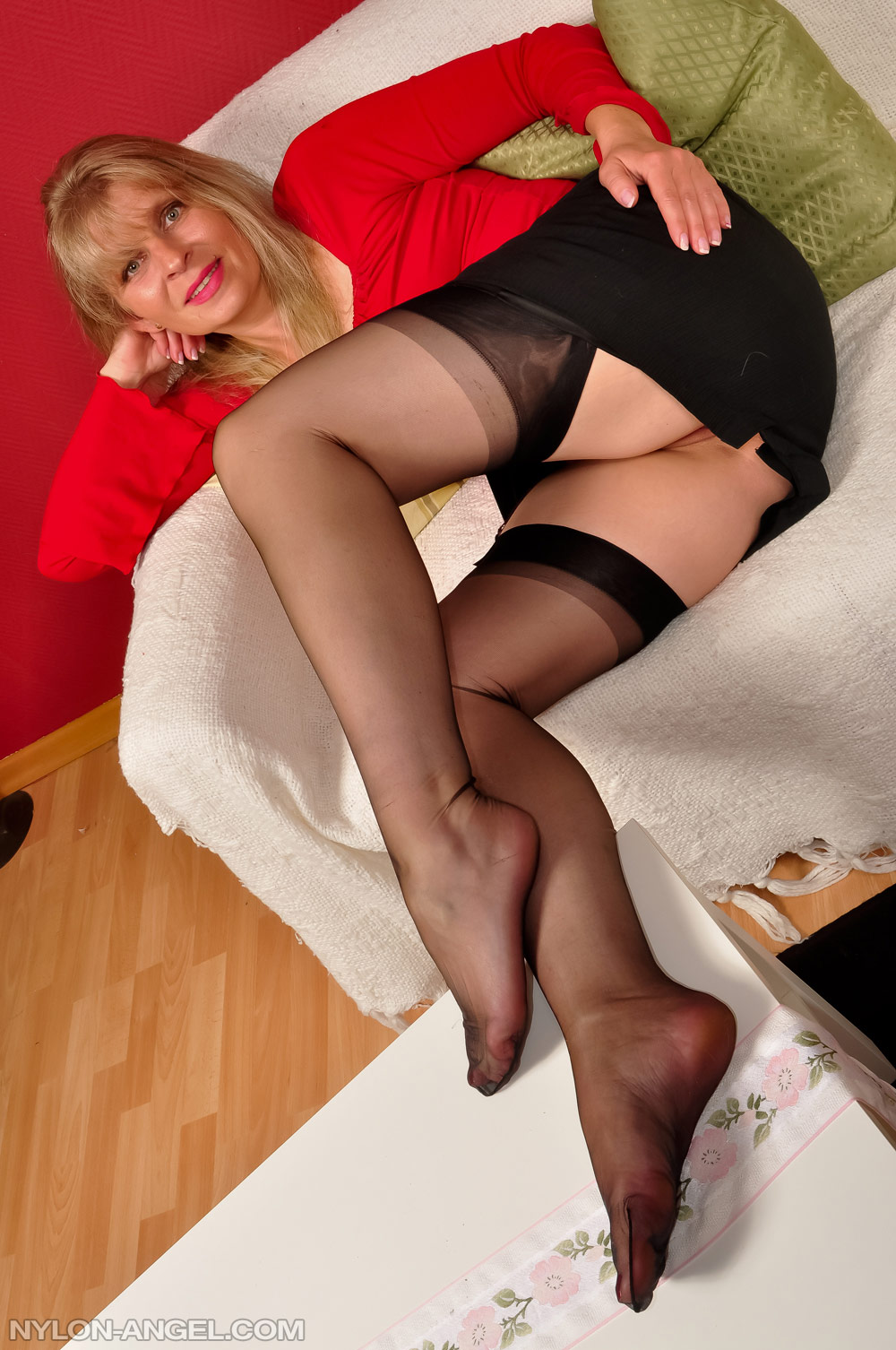 pantyhose Old and young
