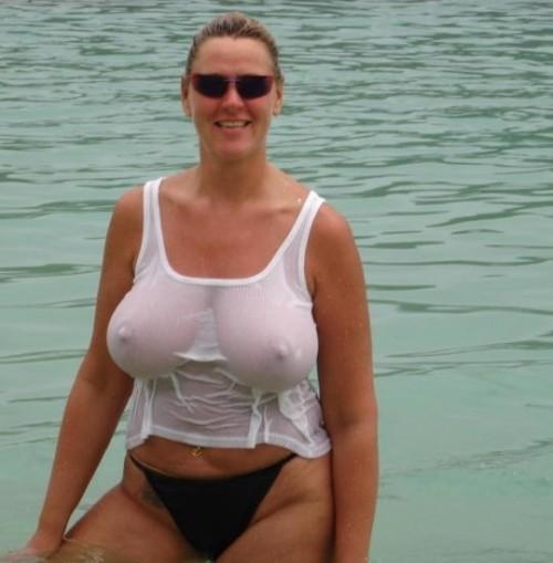 top boobs Bbw through big see