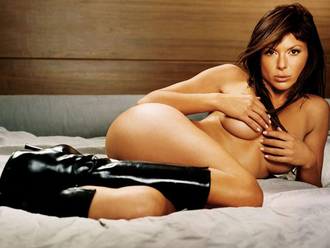naked Halle nude berry