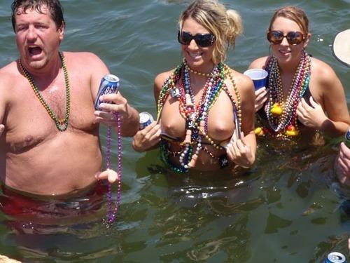nipple Spring break slip drunk