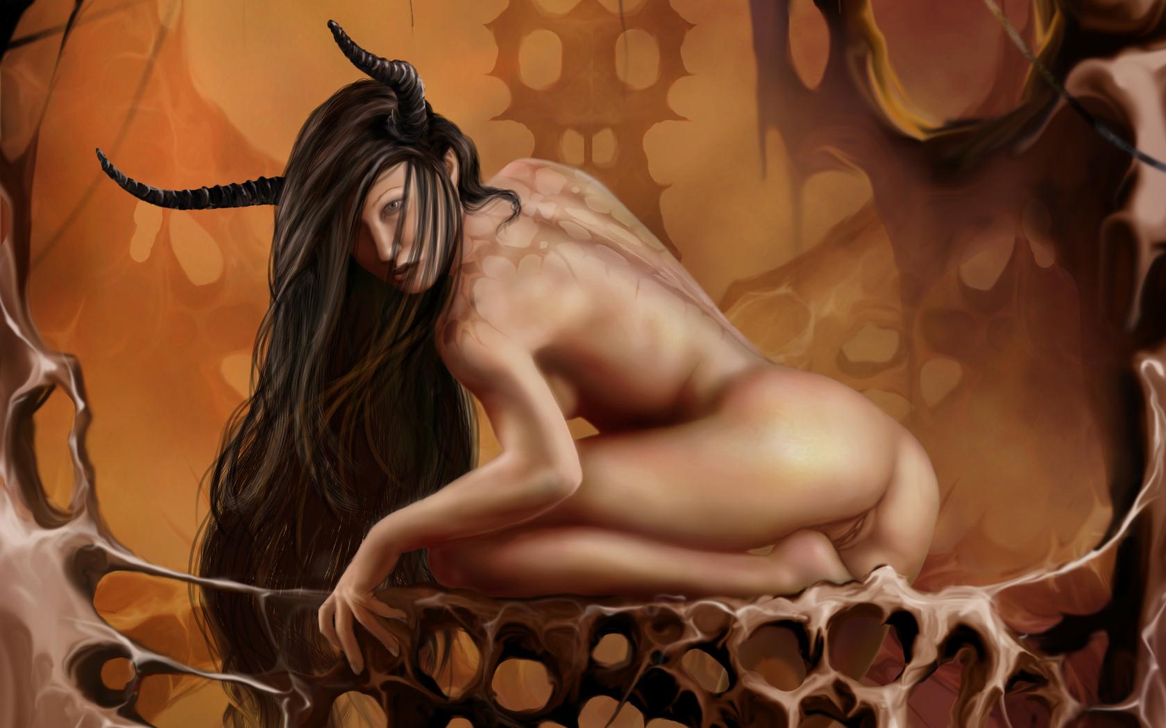 fantasy demon porn