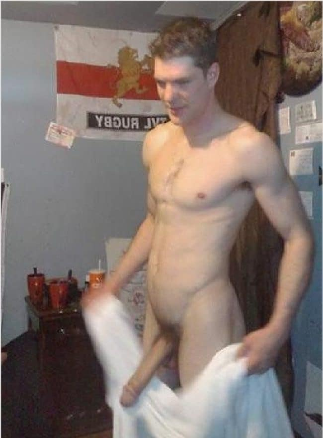 Guys showing off their big dicks
