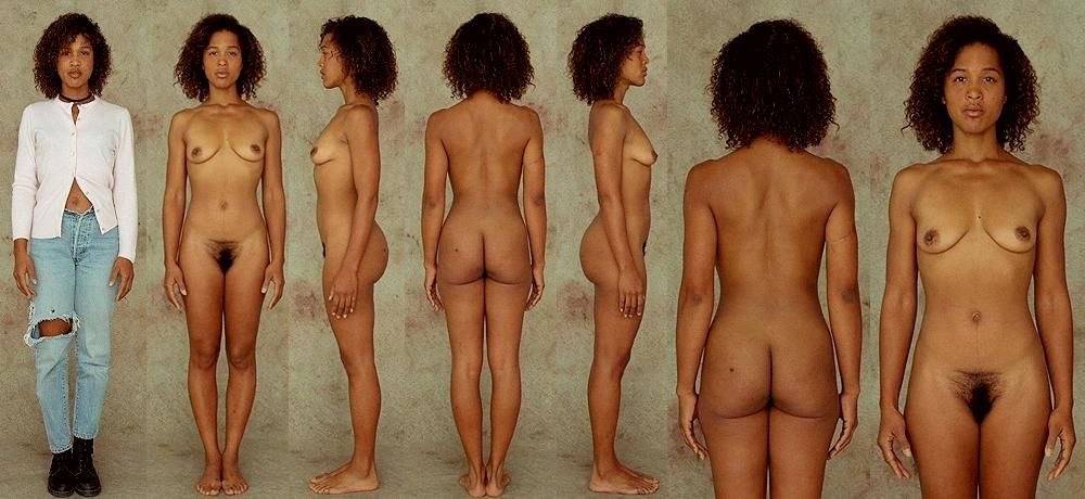 Study of female nude