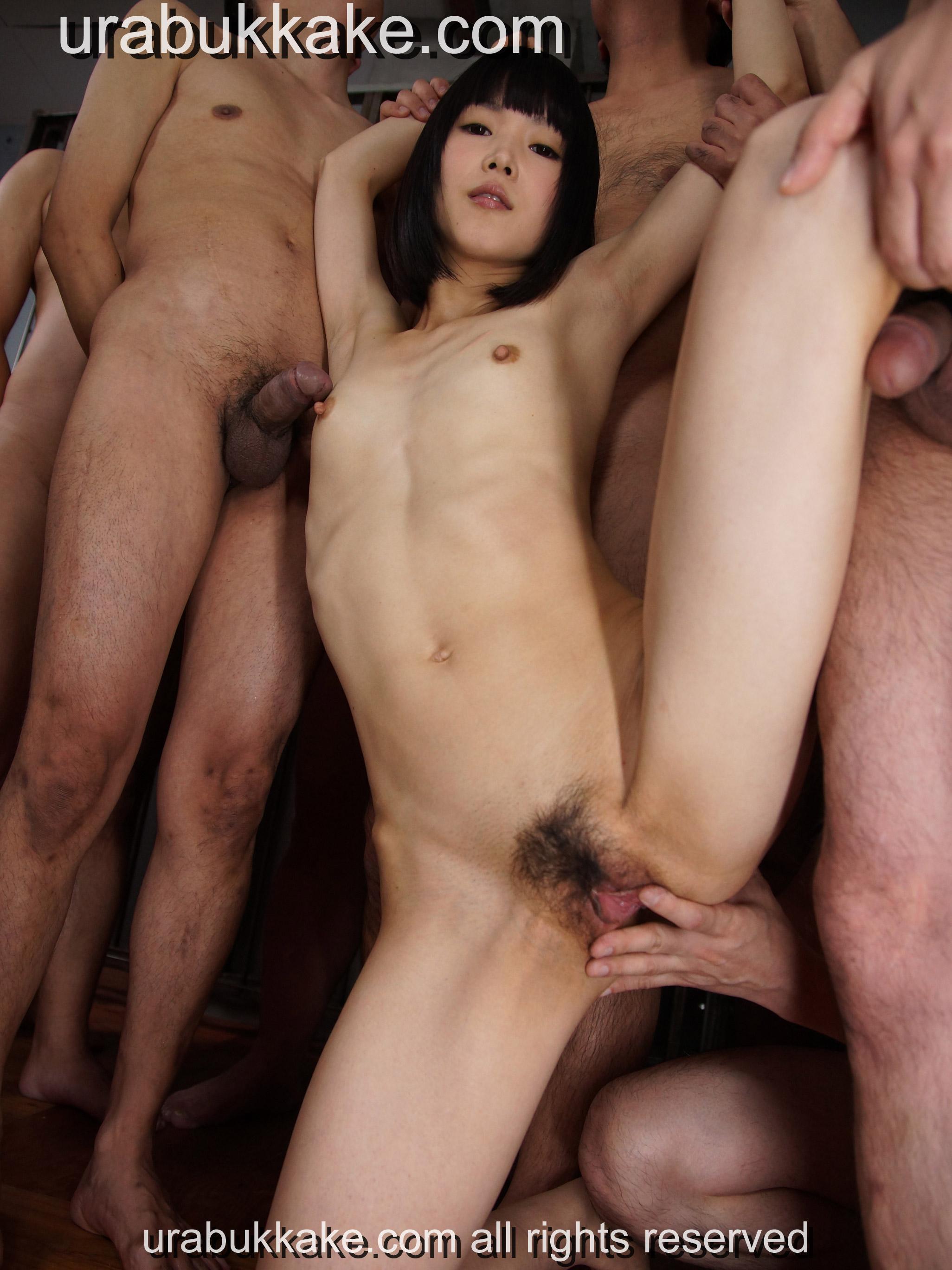 japanese cum gangbang Nude girl