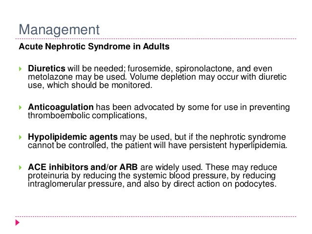 nephrotic syndrome Adult