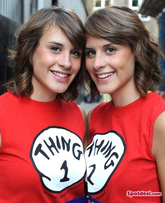 identical twins Most