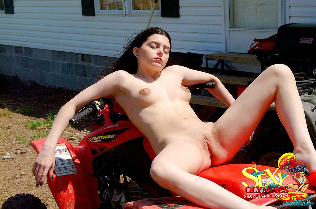 men naked on atvs