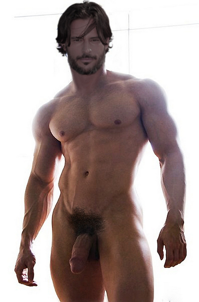 nude Joe Manganiello