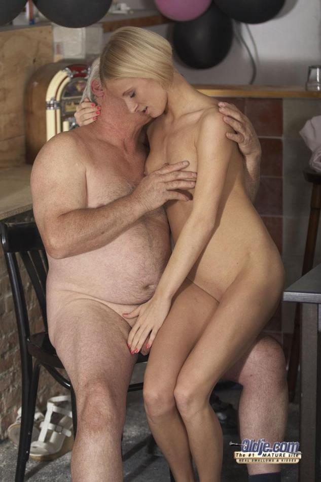 hot girls nude with old men