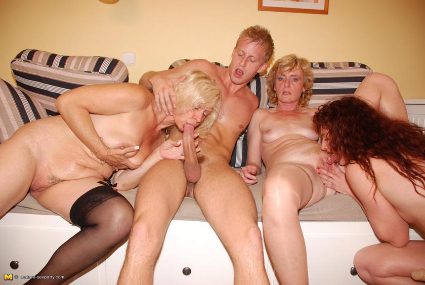 mature sex sluts party Three