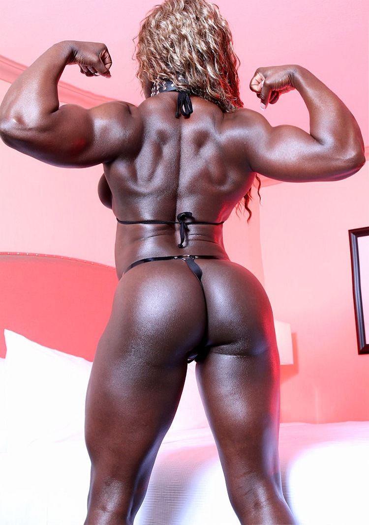 black female bodybuilders Sexy