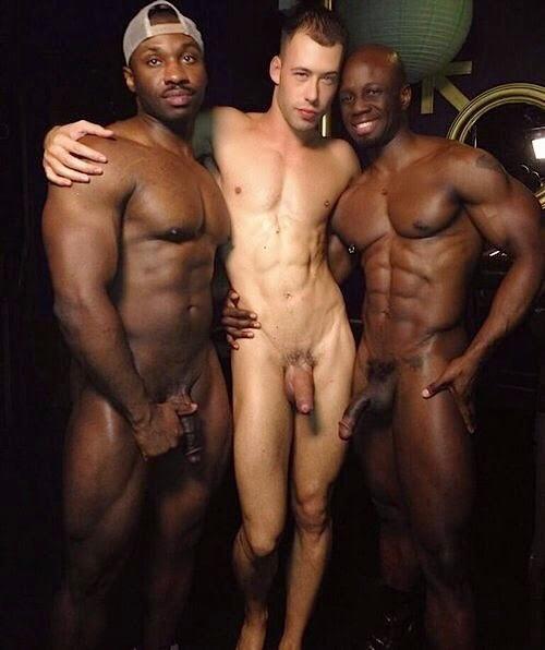 porn twins gay Black