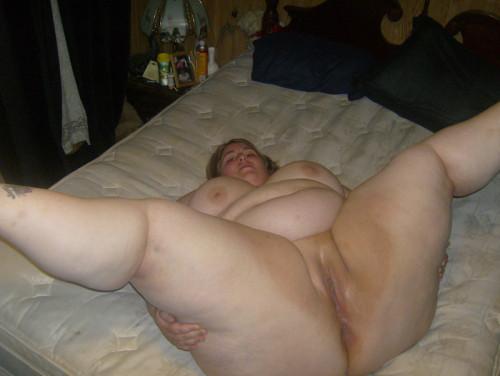 granny spread legs Fat
