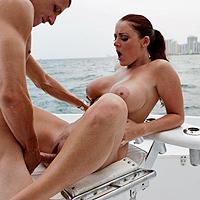 beach Big pussy boobs hairy