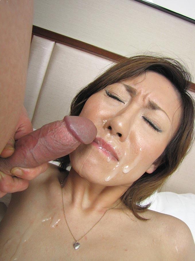 blowjob cumshot facial Asian