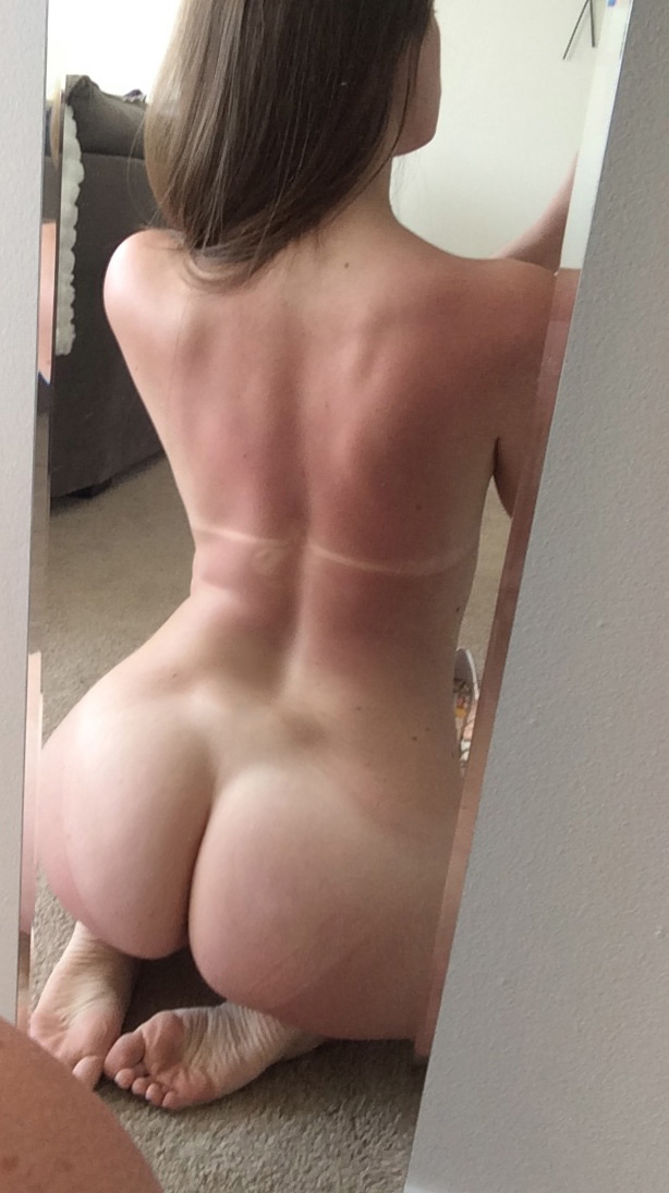 Ass beautiful selfie brunette
