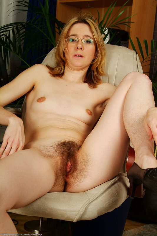 pussy Middle hairy age woman