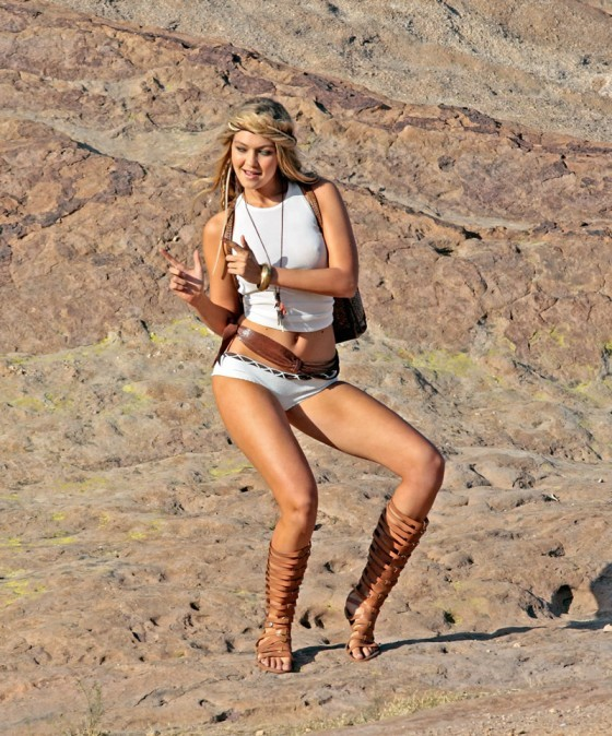 hiking desert Women nude