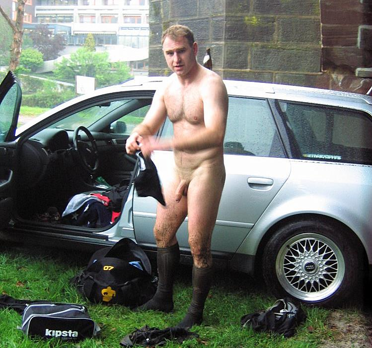 locker naked Rugby room