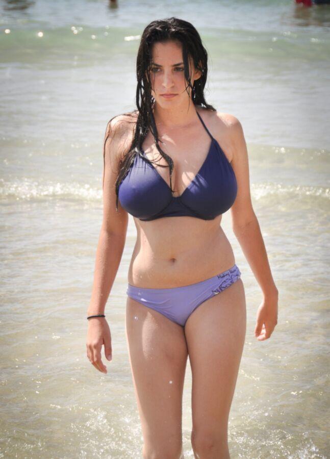 in bikinis Tits