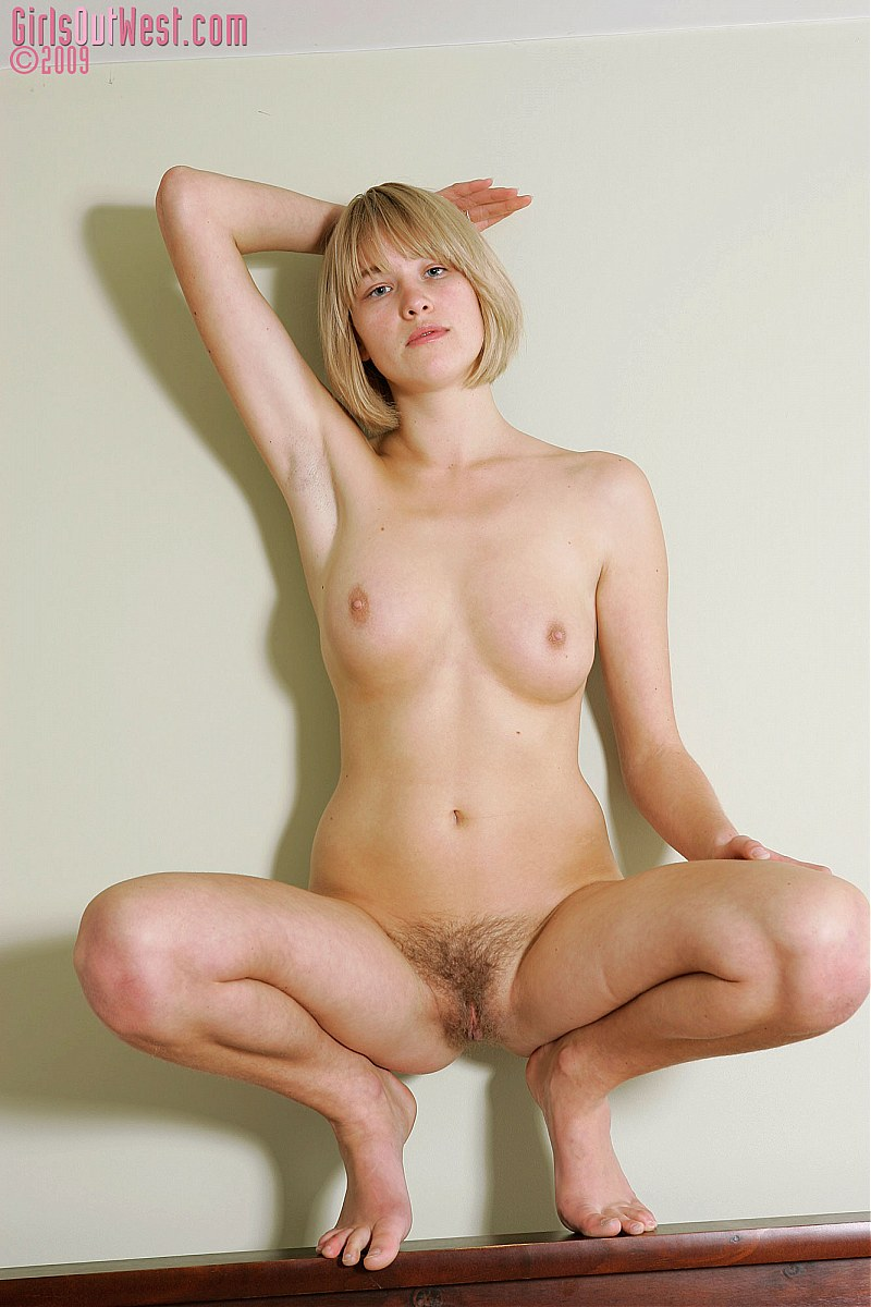 blonde bush natural Amateur