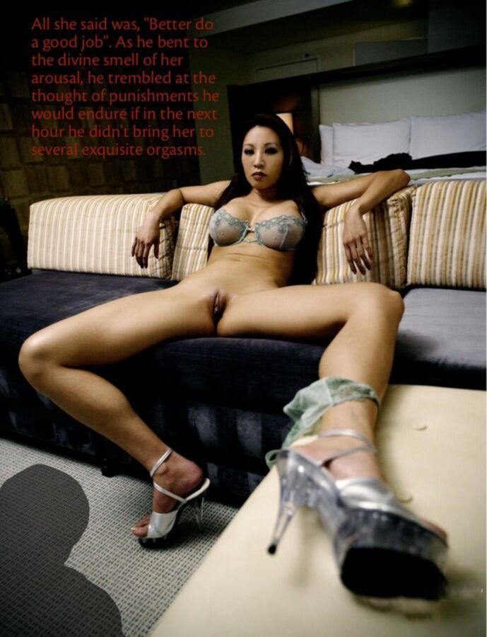cuckold captions Bride porn