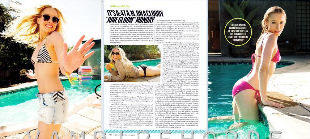 bell esquire Kristen bikini